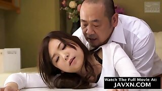 Exciting Japanese Babe Pounded Unconnected with Neighbor